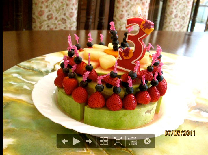 Birthday Cake With Fruit Image Inspiration of Cake and Birthday