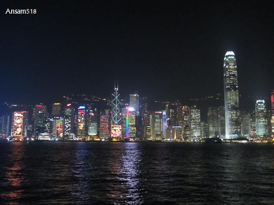 how to go to symphony of lights hong kong