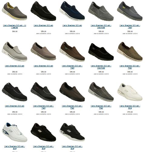 skechers on the go men's